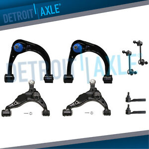 Front Upper Lower Control Arms Tierods Sway Bars For Gx470 4runner Fj Cruiser