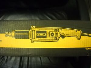 Dewalt Dw888 2 Heavy duty Straight Handle Die Grinder Electric 5 Amp New