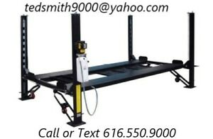New 8 000 Lbs Hd 4 post Car Auto Lift With Ramps Special Promotional Price