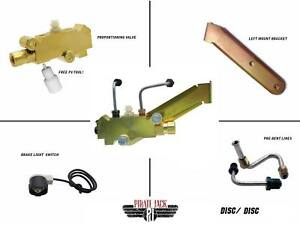 Disc Disc Proportioning Valve Kit Left Side Mount Universal In Application
