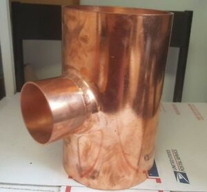 Nibco Copper Reducing Tee 5 x 5 x 2 1 2