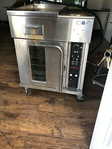 Lang 30 Electric Half Size Convection Oven With 18 Griddle And 2 burner
