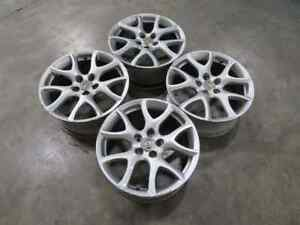 10 13 Mazdaspeed Mazda 3 Speed Gen 2 Oem 18x7 5 Wheels Rims Sliver Wheel Rim T7