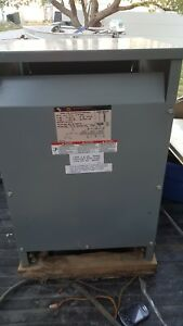 Square D Sorgel 45 Kva Insulated Transformer 45t6h Made In The Usa