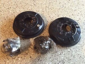 Mga Front Disc Wheel Hubs And Brake Drums Set Good Condition
