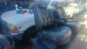 2003 Silverado Ss Used Seats Gray Leather Power Front