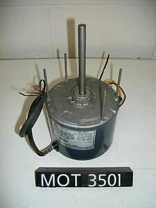 Emerson 1 3 Hp Single Phase 2 Speed Direct Drive Fan Blower Motor mot3501