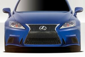 Is250 Is350 3is Conversion Front Bumper 1 Piece Fits Lexus Is Series 06 13