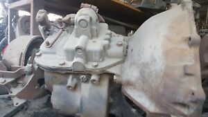 1962 Sm420 Chevy Truck Stick Shift Manual Transmission With Pto 4 Speed