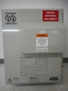 Esl Power Systems 200 Amp 240v Single Phase Manual Transfer Switch Outdoor