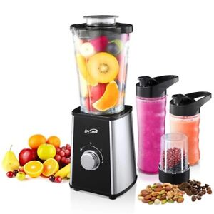 Housmile Smoothie Blender 7 piece Professional Countertop Blenders With 300 Wat