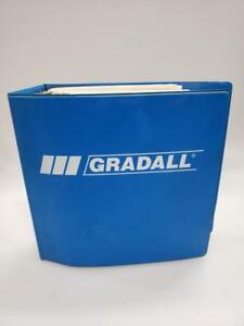 Gradall G3wd Series E Hydraulic Excavator Combined Service Manual
