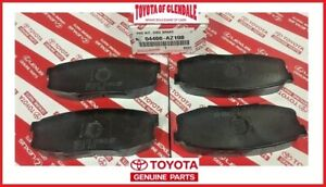 2007 2020 Toyota Tundra 2008 2020 Sequoia Rear Brake Pads Genuine 04466 Az108