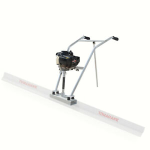 37 7cc 4 Stroke Gas Concrete Wet Screed Power Screed Cement Engine Only Used