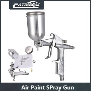 Mini Hvlp Air Spray Gun 0 8mm Auto Car Touch Up Paint Sprayer Gravity Repair