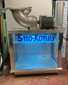 Gold Medal Products Sno konette Ice Shaver Sno Kone Machine Snow Cone