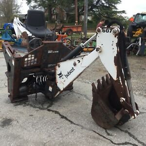 Bobcat 607 Skid Steer Backhoe Attachment