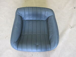 97 99 Firebird Trans Am Conv Med Gray Leather Rear Lower Seat Bottom 0527 15