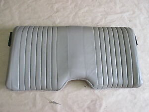 96 02 Firebird Trans Am Tan Neutral Leather Rear Upper Seat Back 0414 20