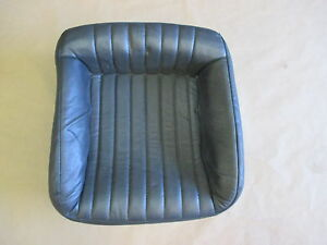 93 96 Firebird Trans Am Graphite Leather Rear Lower Seat Bottom 0421 13