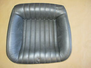 93 96 Firebird Trans Am Graphite Leather Rear Lower Seat Bottom 0421 32