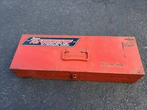 Vintage Snap On Tools Kra 130 Box Case For Torqometer Torque Wrench