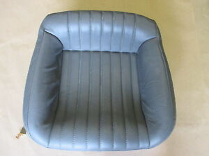 97 99 Firebird Trans Am Med Gray Leather Rear Lower Seat Bottom 0815 6