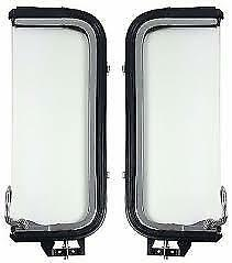 1956 Ford Pickup Vent Window Assemblies Ford Truck Stainless Clear