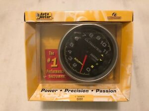 Auto Meter 5 Ultimate Iii Playback Tachometer 11 000 Rpm