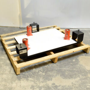 Kinetic Systems Vibraplane 24 X 30 Inch Table Top Isolation Platform 1208 03 11