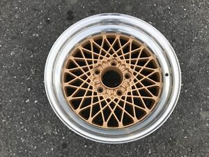 16 Pontiac Firebird Gta 1986 1987 16x8 Polished Gold Rear Snowflake Oe Wheel