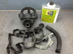 99836 Msa Gmeo ssw n95 Gas Mask With Canister