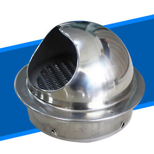 Round Air Vent Cover Grille Outlet Exhaust Port Stainless Steel 4 6 7 Inch