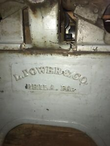 12 Inch L Power Co Jointer