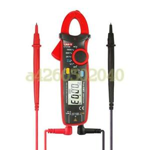 Uni t Ut210e True Rms 100a Ac dc Current voltage Mini Clamp Meters With Ohm Test