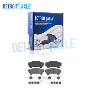 Front Ceramic Brake Pads For 2006 2007 2008 2009 2012 Fusion Mkz Milan Mazda 6