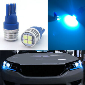 Bright Ice Blue Led Lights Fit For 2013 2015 Honda Accord Headlight Strip Bulbs