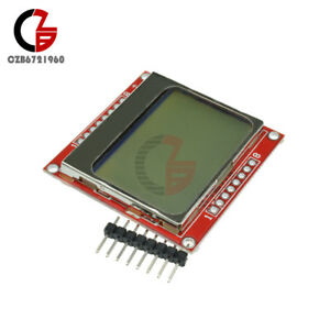 2pcs 84 48 Nokia Lcd Display Module white Backlight Adapter Pcb For Nokia 5110