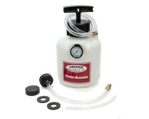 Motive Products Brake Power Bleeder System P n 103