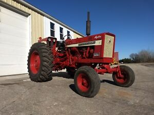 1968 Ih Farmall 656 Hydro W New Paint Sharp