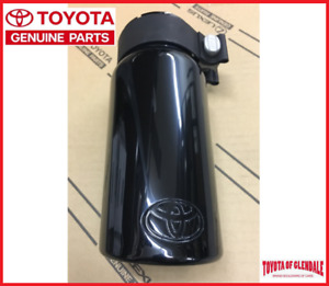 2012 2021 Toyota Tundra Black Chrome Exhaust Tip Genuine Oem New Pt932 34180 02