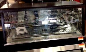 Hot Food Counter Top Proofer 48 Glass Display Case Cozoc New