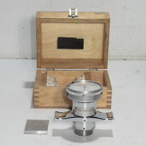Fowler Low Range Instrument Hardness Tester W Test Block 53 760 006