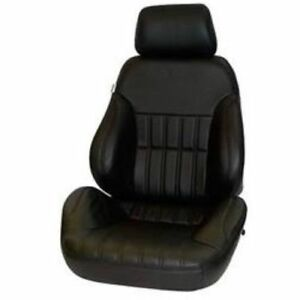 Procar By Scat 80 1000 51l leather xl Rally Series 1000 Black Leather Seat Left