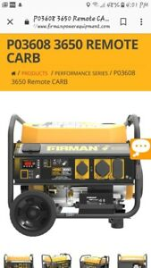 Firman Generator Po3608 New In Box Good Deal Paid Almost 600 With Tax