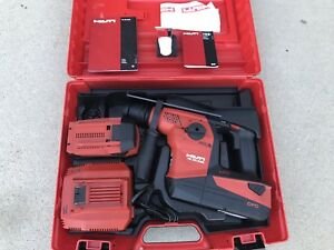 Hilti Te 30 a 36 36 V Cordless Combi Hammer Free Shipping To Usa