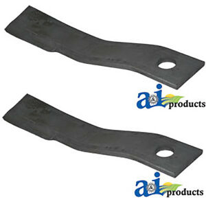 Set Of 2 Lawn Mower Rotary Cutter Blades Made For Bush Hog Rb60 Sq60 Sq60 5