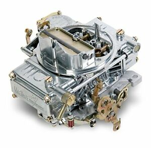 Holley 0 1850sa Carb 600cfm Alum Plsh Man Ch