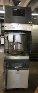 Giles Gef 720vh Ventless Hood Electric Fry Kettle Deep Fryer W Oil Filtration S