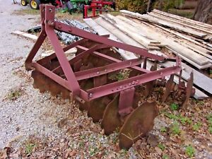 Used Imco 5 Ft 3 Pt Lift Disc Harrow we Can Ship Cheap And Fast